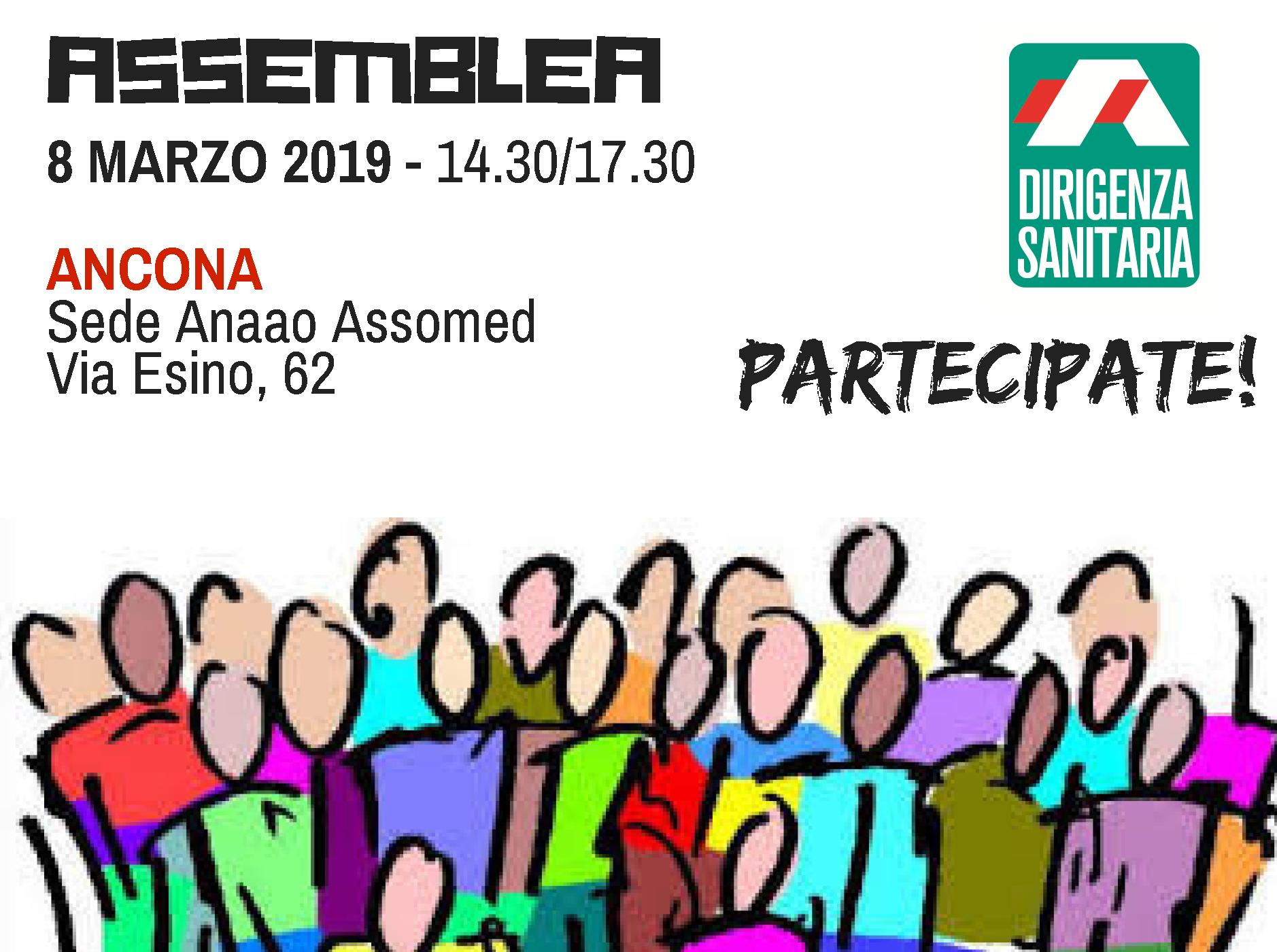 L Assemblea si svolgerà a ANCONA - Sede Anaao in Via Esino 6d238fbb028
